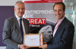 British Ambassador Simon Manley awards
