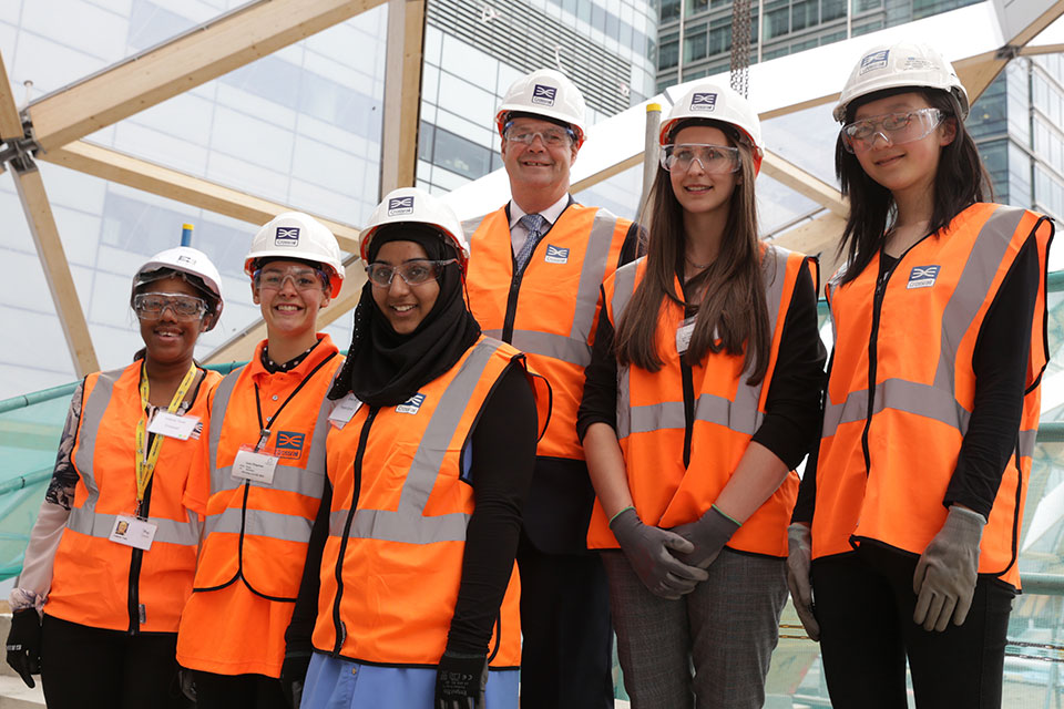 Stephen Hammond celebrates the first National Women in Engineering Day
