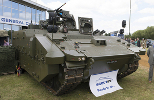 First pre-production prototype of the Scout specialist vehicle [Picture: Andrew Linnett]