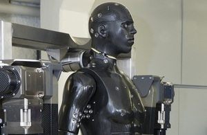 Dstl mannequin for testing equipment