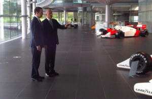 Chancellor visiting McLaren