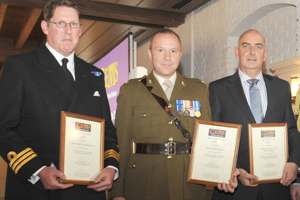 Defence Equipment and Support's Apache Helicopter Team won the Public Value Award at this year's Civil Service Awards