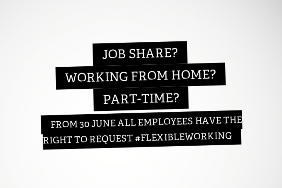 Flexible Working poster