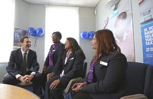 The Chancellor in a Halifax branch