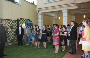 Reception in honor of 30th Chevening Anniversary