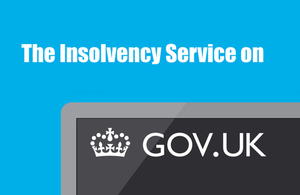Insolvency on GOV UK
