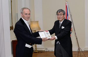 Dr Haruo Naito honoured by The Queen