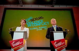 The Global Summit to End Sexual Violence in Conflict took place in London from 10-13 June 2014.