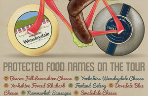 Protected Food Names on Tour De France route