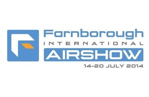 Farnborough air show logo.