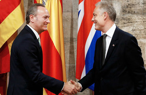 British Ambassador to Spain with Valencian President