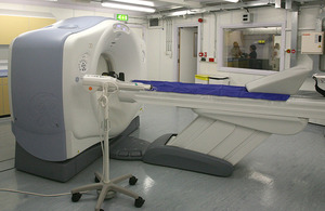GE Healthcare CT scanner