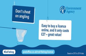 Don't cheat on angling