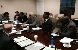 Members of Cabinet meet in Providenciales
