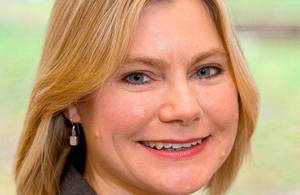Photo of Development Secretary Justine Greening.