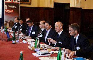 Thai business leaders visit the UK