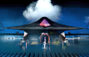 The Taranis unmanned combat aircraft prototype