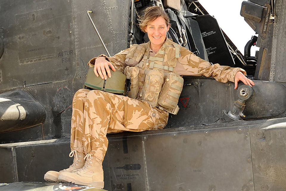 Captain Joanna Gordon thinks the Army Air Corps could benefit from more women pilots