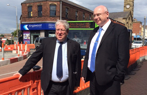Patrick McLoughlin visits Local Growth Deals site