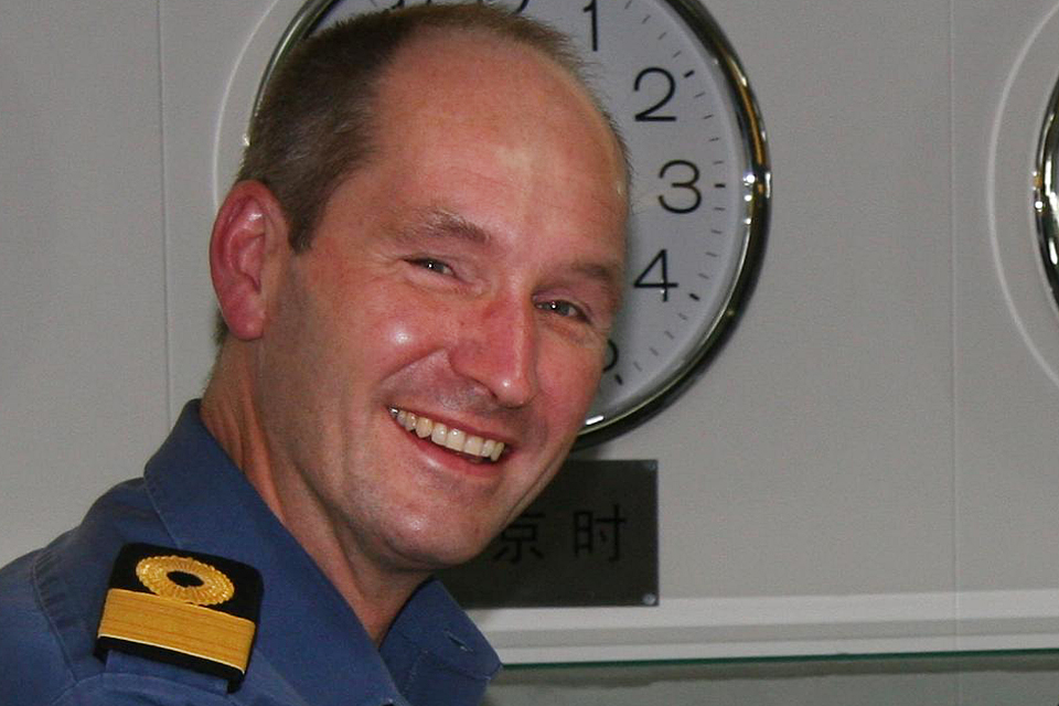 Commodore Jeremy Blunden