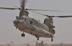 RAF Chinook Bravo November