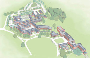 Proposed new Defence and National Rehabilitation Centre at Stanford Hall [Picture: BSS Ltd]