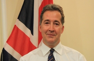 British Ambassador Mark Canning