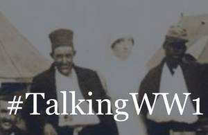 Talking WW1 image