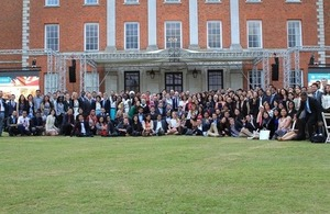 Chevening Scholars at Chevening House