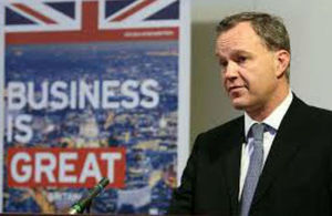 Mark Simmonds, British Foreign Office Minister for Africa