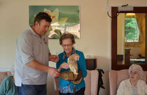 Owl event at nursing home