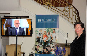 Foreign Secretary William Hague sends a warm message to Chevening Scholars.