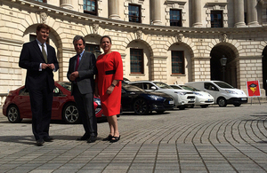 Baroness Kramer, Chief Secretary to the Treasury Danny alexander and Minister of State for the Cabinet Office Oliver Letwin at the event.
