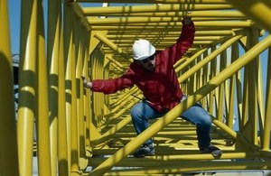 Engineer on oil rig (c) Punchstock
