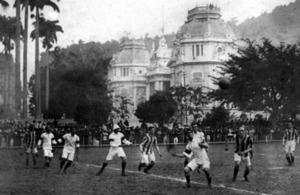 Brasil x Exeter City em 1914