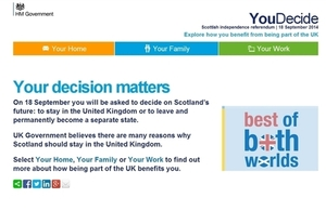 YouDecide website screenshot