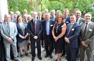Queen's Award winners from south east region at UKTI event