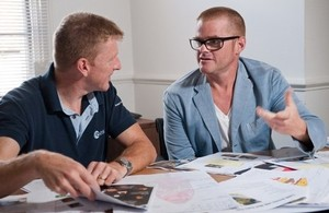 Tim and Heston