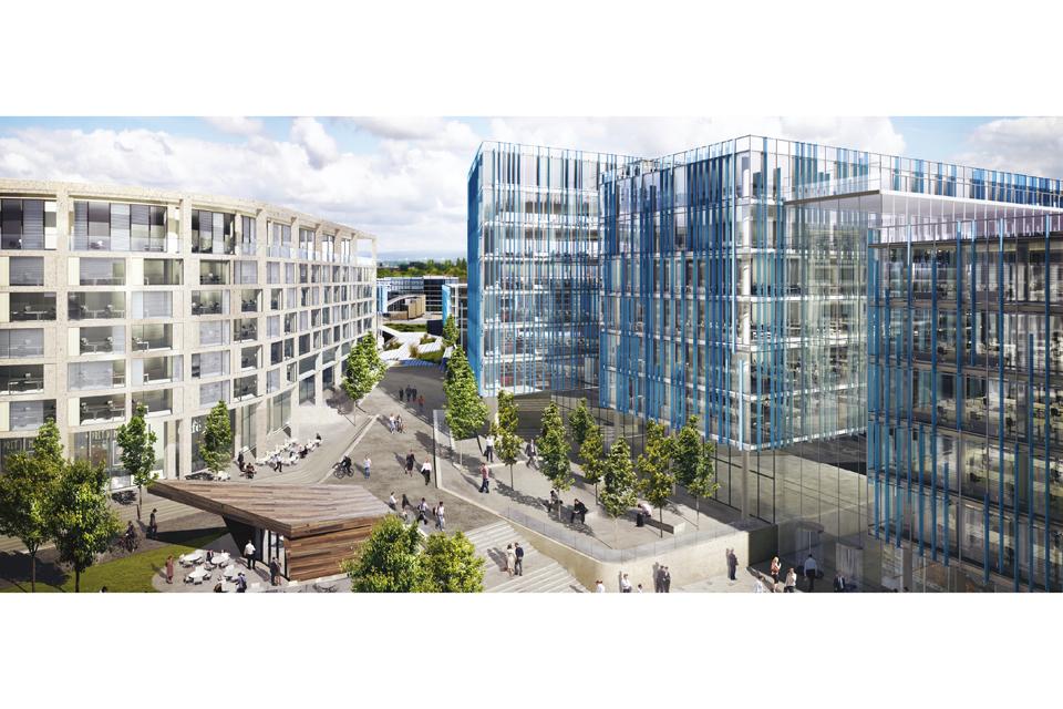 Airport City Manchester development