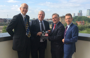Sir David Higgins, Patrick Mcloughlin, Albert Bore and Andy Street