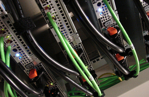 Image of computer servers