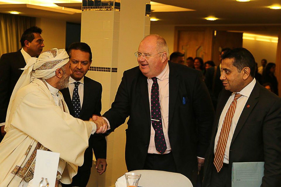 Eric Pickles at the Hounslow Big Iftar