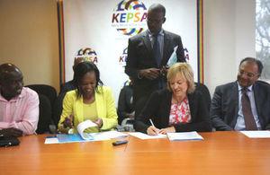 DFID_KEPSA MoU signing