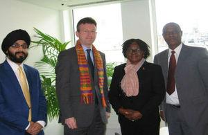 Ghana Prisons delegation with UK Officials