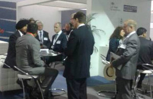 'Meet the Buyer' sessions at the Farnborough International Air Show.