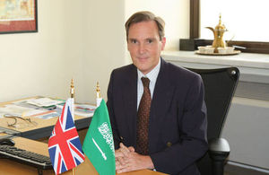 Richard Wildash, Chargé d'Affaires, British Embassy Riyadh