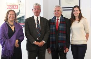 University of Edinburgh visit