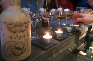 Professor Cornelius Ampleforth's cask aged gin