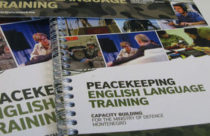 Peacekeeping English Language Training project