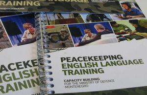 Peacekeeping English Language Training project